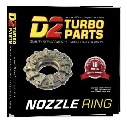 NR-D2TP-0001 Nozzle Ring | Geometrija | 775517-0001, 775517-0002