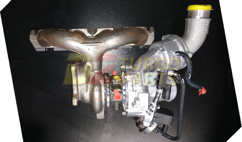 06J145722D 6J145722D | Turbo VOLKSWAGEN Transporter | Turbocharger 06J 145 722 D | Turbine 06J-145-7